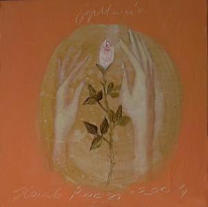 A Hand Holdin a Rose