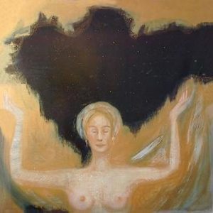 Angel Creating the Night Sky