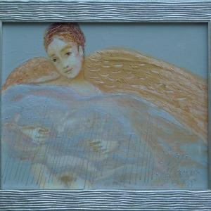 Angel with Raincloud
