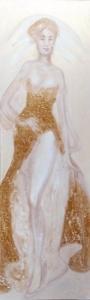 Golden Mail Dress