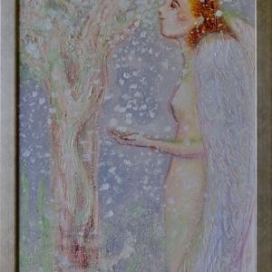 Apple tree Angel