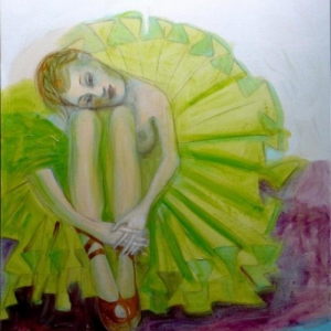 In the Green Dress II