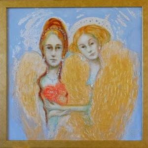 Inglid kolme roosiga