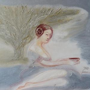 Drinking Tea under the Tree