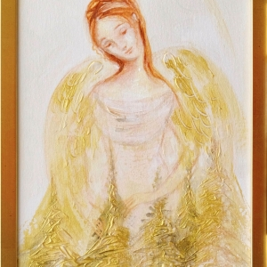 Angel in the Golden Forest